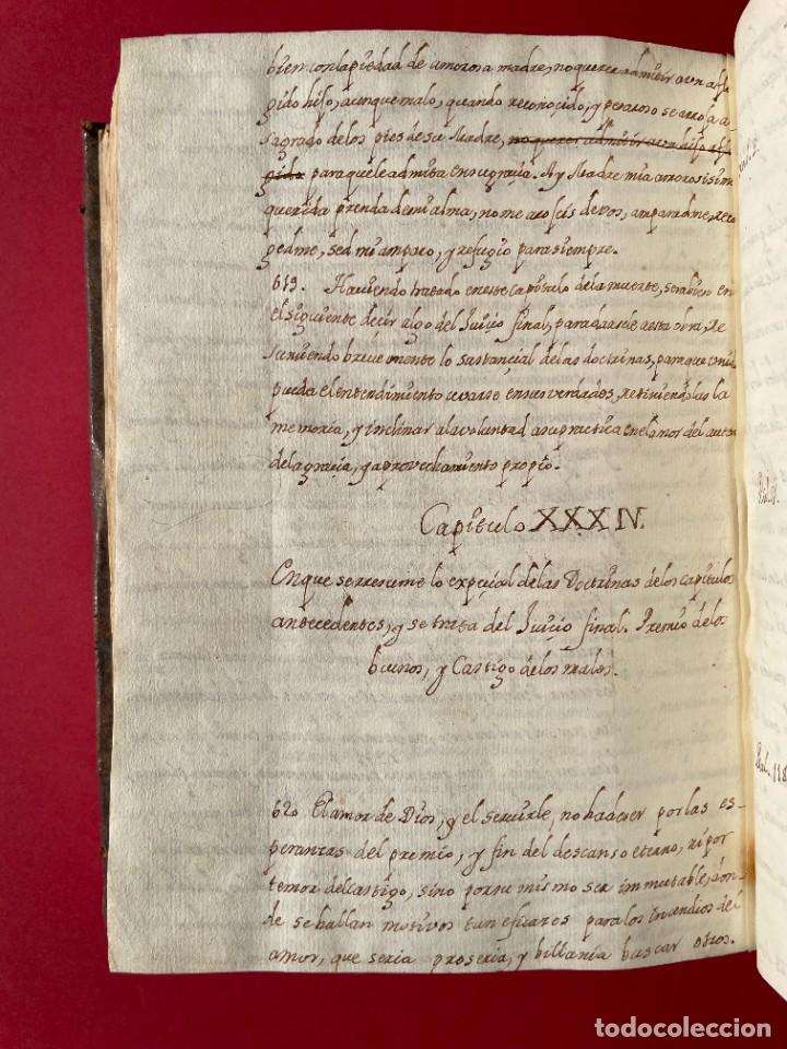 Libros antiguos: SIGLO XVIII - TESOROS ESCONDIDO, VIDA DE LOS PATRIARCAS JUDIOS - LIBRO MANUSCRITO - Foto 41 - 254344345