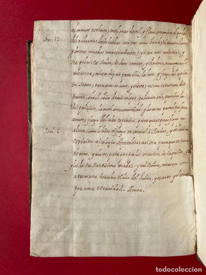 Libros antiguos: SIGLO XVIII - TESOROS ESCONDIDO, VIDA DE LOS PATRIARCAS JUDIOS - LIBRO MANUSCRITO - Foto 42 - 254344345