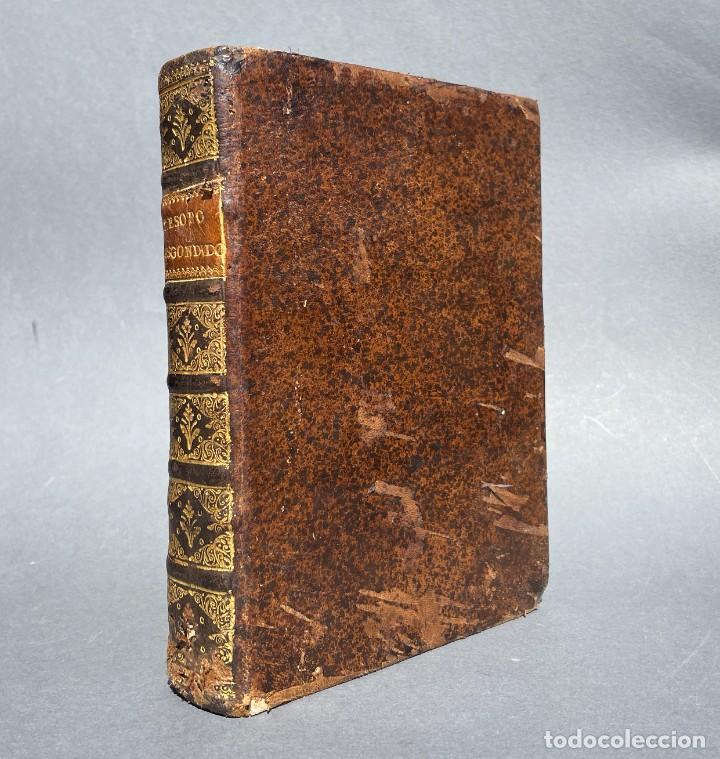SIGLO XVIII - TESOROS ESCONDIDO, VIDA DE LOS PATRIARCAS JUDIOS - LIBRO MANUSCRITO (Libros antiguos (hasta 1936), raros y curiosos - Historia Antigua)