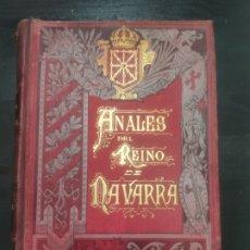 Libros antiguos: ANALES DEL REINO DE NAVARRA,1890 P. JOSÉ DE MORET TOMO IV. Lote 256011285