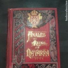 Libros antiguos: ANALES DEL REINO DE NAVARRA, 1891 P. JOSÉ DE MORET TOMO VI. Lote 256013335