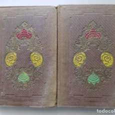 Libros antiguos: LIBRERIA GHOTICA. EDICIÓN ISABELINA DE J.J. GUILAEMIN. HISTORIA ANTIGUA.2 TOMOS.1858. CON GRABADOS.. Lote 257900285