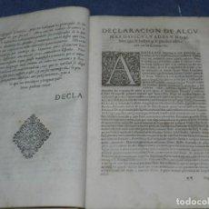 Libros antiguos: (MF) DIAGO, FRANCISCO - HISTORIA DE LOS CONDES DE BARCELONA 1597 ?, VER DESCRIPCIÓN. Lote 259271405