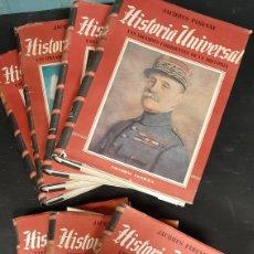 Libros antiguos: LOTE DE 7 VOLUMENES HISTORIA UNIVERSAL LAS GRANDES CORRIENTES DE LA HISTORIA. Lote 259768850