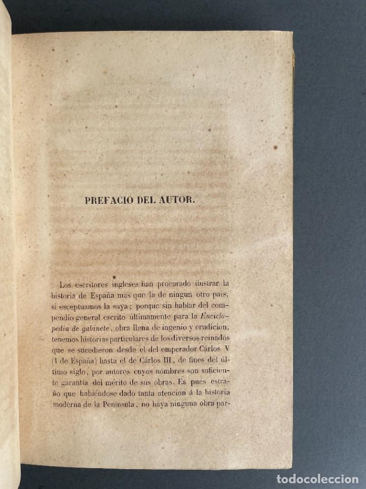 Libros antiguos: 1845 - Historia del Reinado de los Reyes Católicos Don Fernando y Doña Isabel - Reconquista - Descub - Foto 6 - 259774795