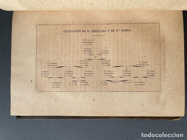 Libros antiguos: 1845 - Historia del Reinado de los Reyes Católicos Don Fernando y Doña Isabel - Reconquista - Descub - Foto 8 - 259774795