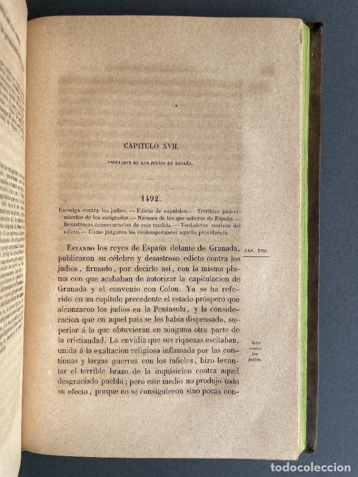 Libros antiguos: 1845 - Historia del Reinado de los Reyes Católicos Don Fernando y Doña Isabel - Reconquista - Descub - Foto 21 - 259774795