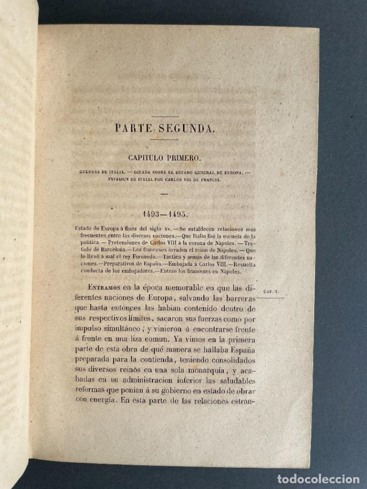 Libros antiguos: 1845 - Historia del Reinado de los Reyes Católicos Don Fernando y Doña Isabel - Reconquista - Descub - Foto 25 - 259774795