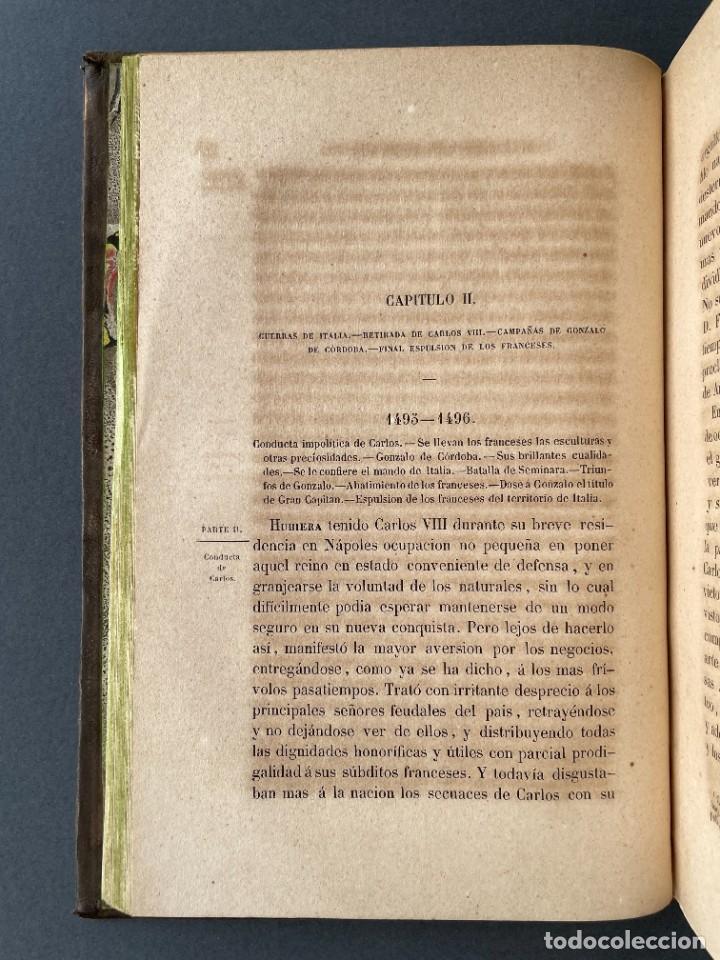 Libros antiguos: 1845 - Historia del Reinado de los Reyes Católicos Don Fernando y Doña Isabel - Reconquista - Descub - Foto 26 - 259774795