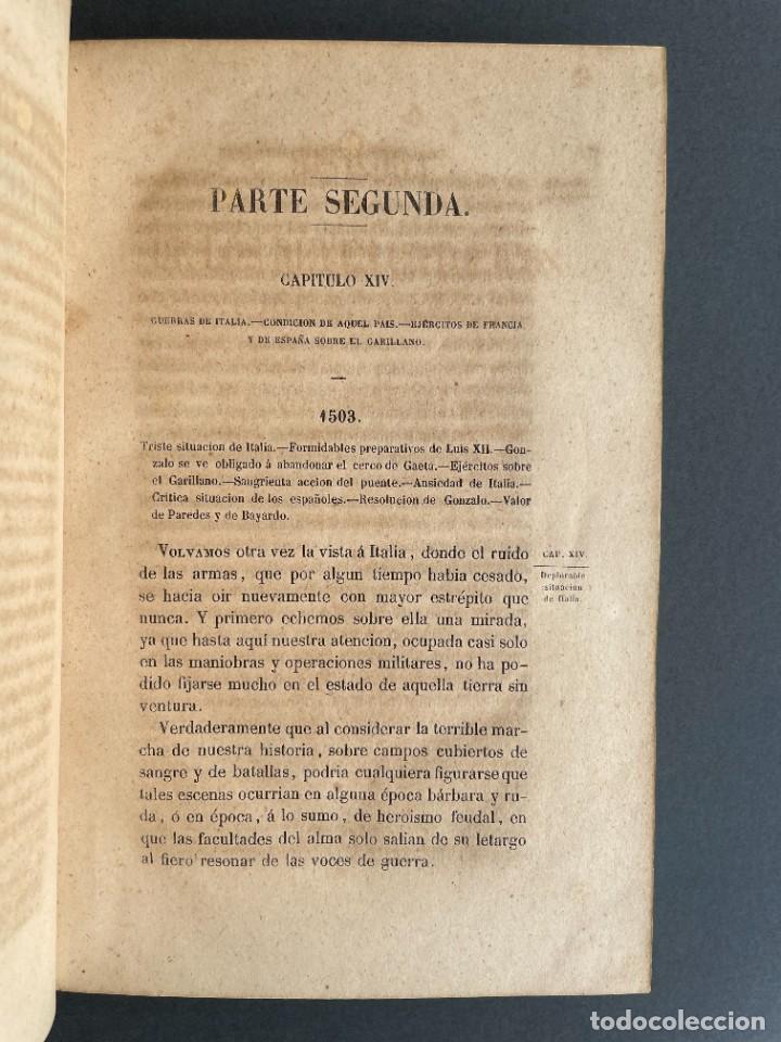 Libros antiguos: 1845 - Historia del Reinado de los Reyes Católicos Don Fernando y Doña Isabel - Reconquista - Descub - Foto 31 - 259774795