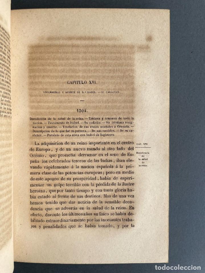 Libros antiguos: 1845 - Historia del Reinado de los Reyes Católicos Don Fernando y Doña Isabel - Reconquista - Descub - Foto 32 - 259774795