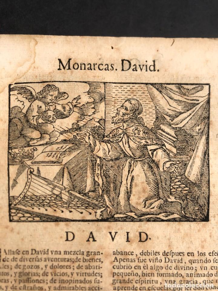 Libros antiguos: Año 1698 - La Corte santa - Tratado de los Monarcas y Cavalleros - Pergamino - De las Reynas, y Seño - Foto 4 - 259855635