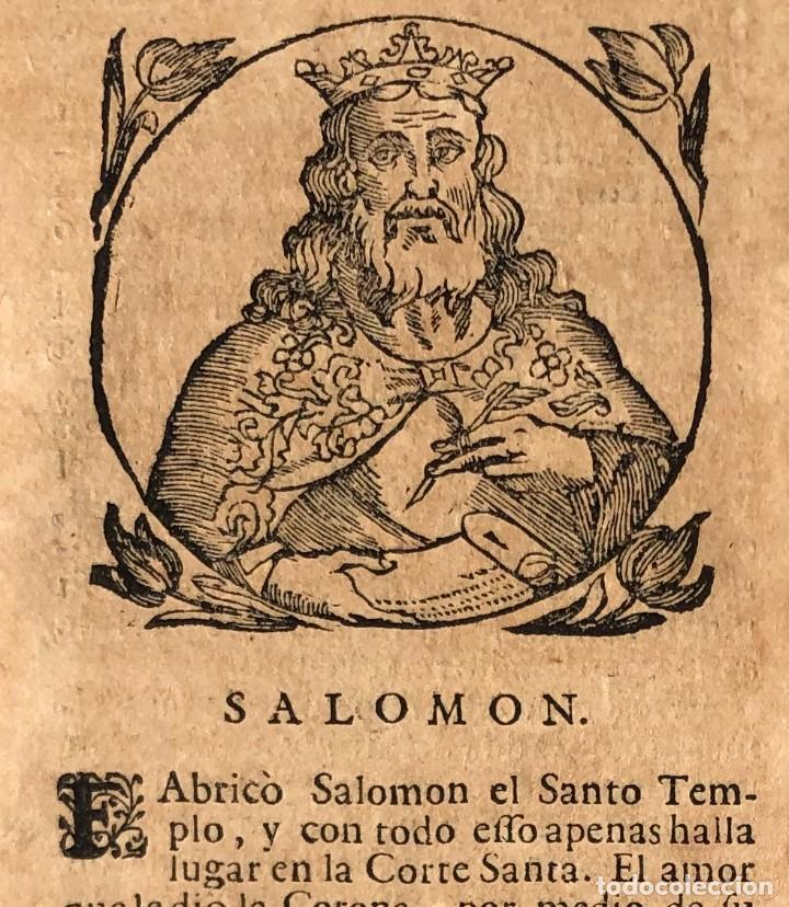Libros antiguos: Año 1698 - La Corte santa - Tratado de los Monarcas y Cavalleros - Pergamino - De las Reynas, y Seño - Foto 6 - 259855635