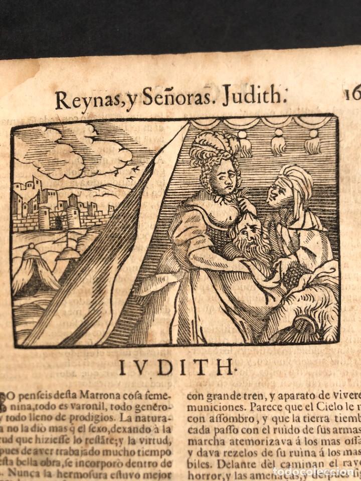 Libros antiguos: Año 1698 - La Corte santa - Tratado de los Monarcas y Cavalleros - Pergamino - De las Reynas, y Seño - Foto 12 - 259855635