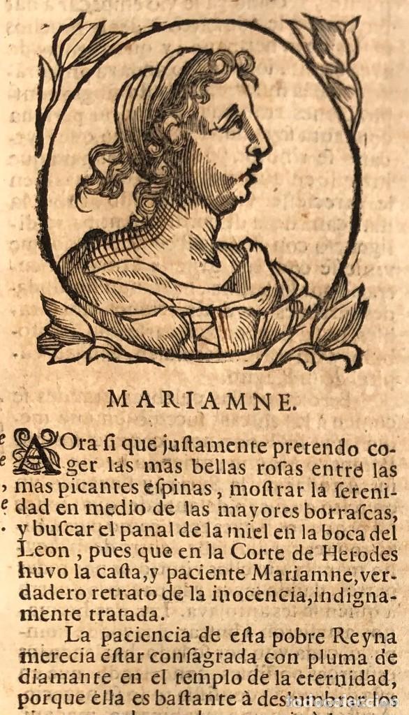 Libros antiguos: Año 1698 - La Corte santa - Tratado de los Monarcas y Cavalleros - Pergamino - De las Reynas, y Seño - Foto 13 - 259855635