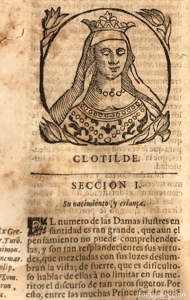 Libros antiguos: Año 1698 - La Corte santa - Tratado de los Monarcas y Cavalleros - Pergamino - De las Reynas, y Seño - Foto 15 - 259855635