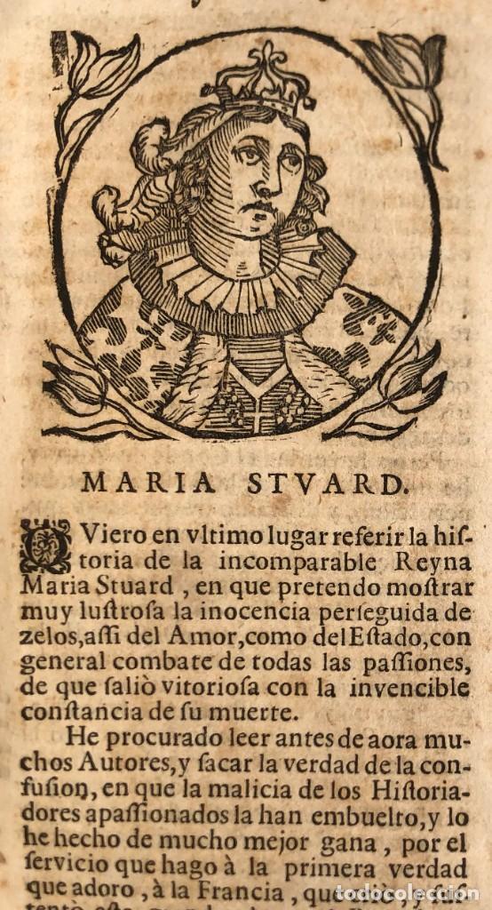 Libros antiguos: Año 1698 - La Corte santa - Tratado de los Monarcas y Cavalleros - Pergamino - De las Reynas, y Seño - Foto 16 - 259855635
