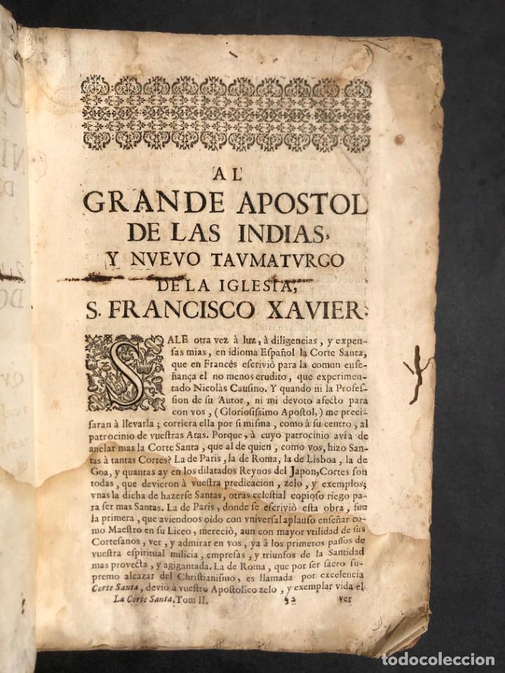 Libros antiguos: Año 1698 - La Corte santa - Tratado de los Monarcas y Cavalleros - Pergamino - De las Reynas, y Seño - Foto 23 - 259855635