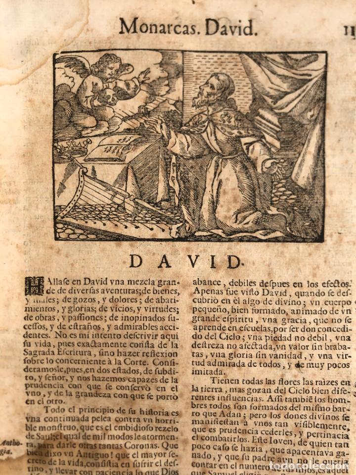 Libros antiguos: Año 1698 - La Corte santa - Tratado de los Monarcas y Cavalleros - Pergamino - De las Reynas, y Seño - Foto 26 - 259855635