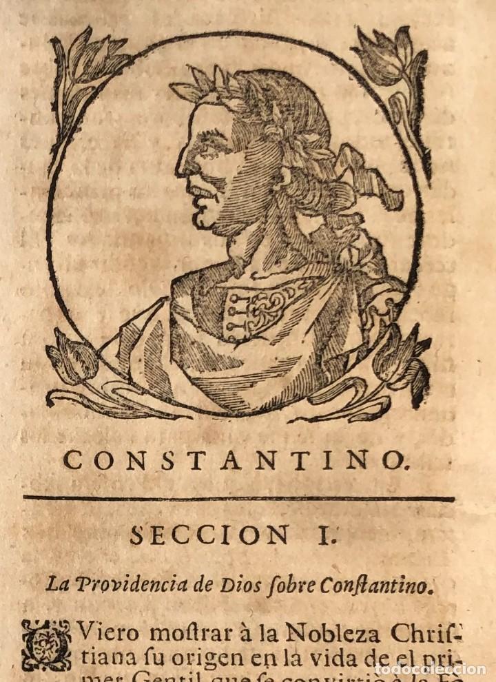 Libros antiguos: Año 1698 - La Corte santa - Tratado de los Monarcas y Cavalleros - Pergamino - De las Reynas, y Seño - Foto 29 - 259855635