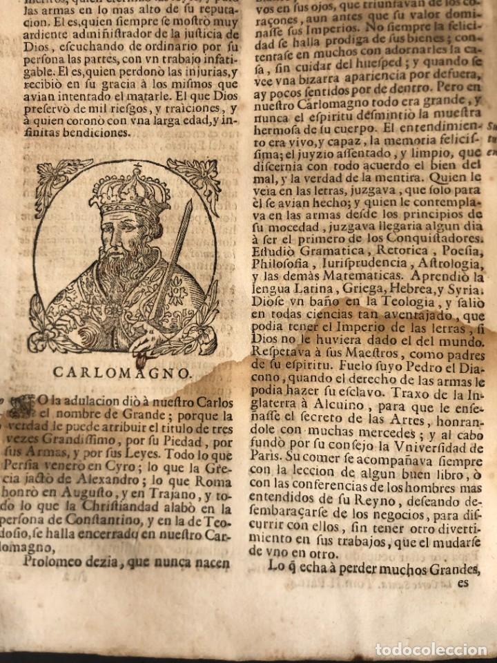 Libros antiguos: Año 1698 - La Corte santa - Tratado de los Monarcas y Cavalleros - Pergamino - De las Reynas, y Seño - Foto 35 - 259855635
