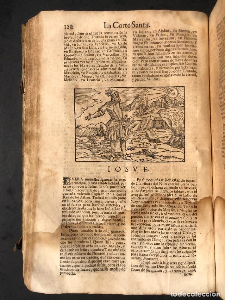 Libros antiguos: Año 1698 - La Corte santa - Tratado de los Monarcas y Cavalleros - Pergamino - De las Reynas, y Seño - Foto 41 - 259855635