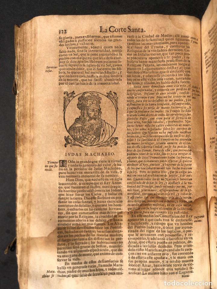 Libros antiguos: Año 1698 - La Corte santa - Tratado de los Monarcas y Cavalleros - Pergamino - De las Reynas, y Seño - Foto 43 - 259855635