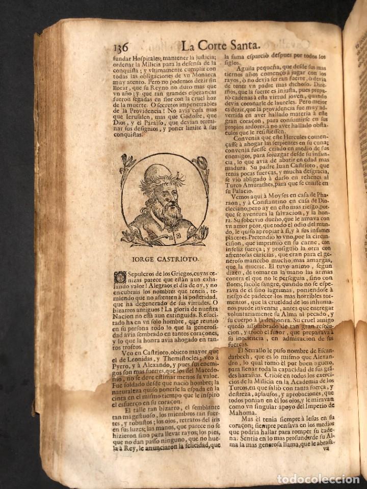 Libros antiguos: Año 1698 - La Corte santa - Tratado de los Monarcas y Cavalleros - Pergamino - De las Reynas, y Seño - Foto 46 - 259855635