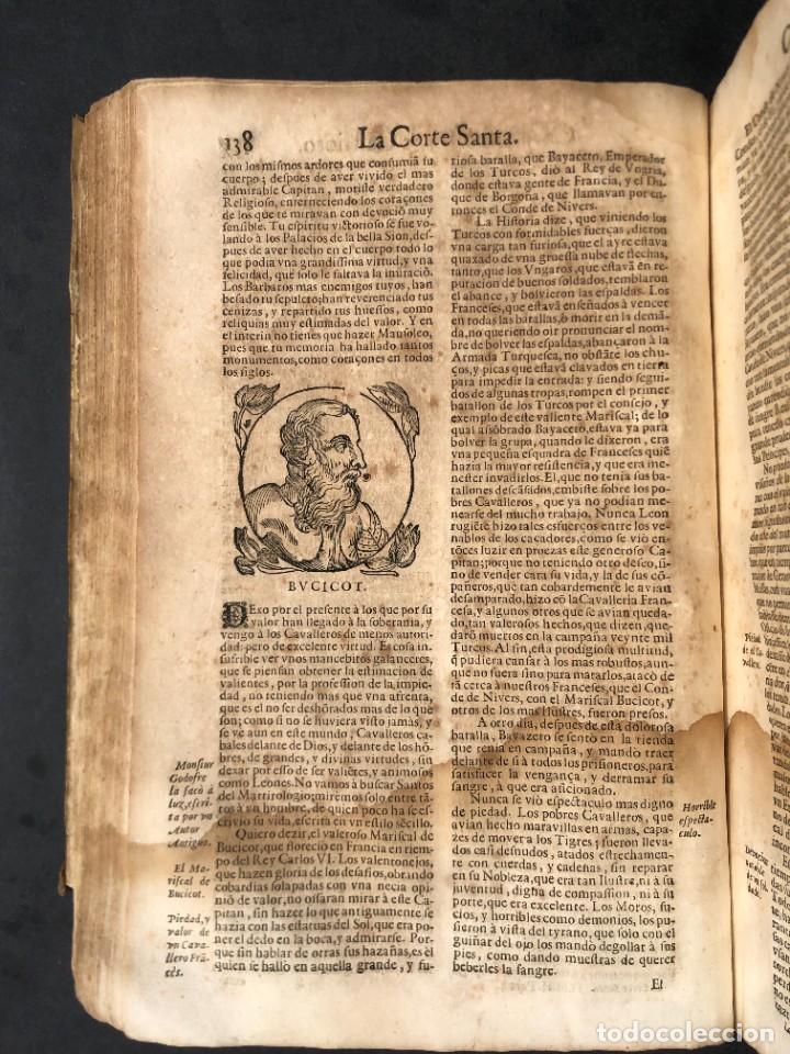 Libros antiguos: Año 1698 - La Corte santa - Tratado de los Monarcas y Cavalleros - Pergamino - De las Reynas, y Seño - Foto 47 - 259855635