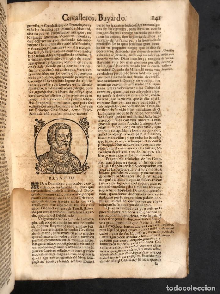 Libros antiguos: Año 1698 - La Corte santa - Tratado de los Monarcas y Cavalleros - Pergamino - De las Reynas, y Seño - Foto 48 - 259855635