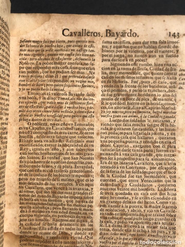 Libros antiguos: Año 1698 - La Corte santa - Tratado de los Monarcas y Cavalleros - Pergamino - De las Reynas, y Seño - Foto 49 - 259855635
