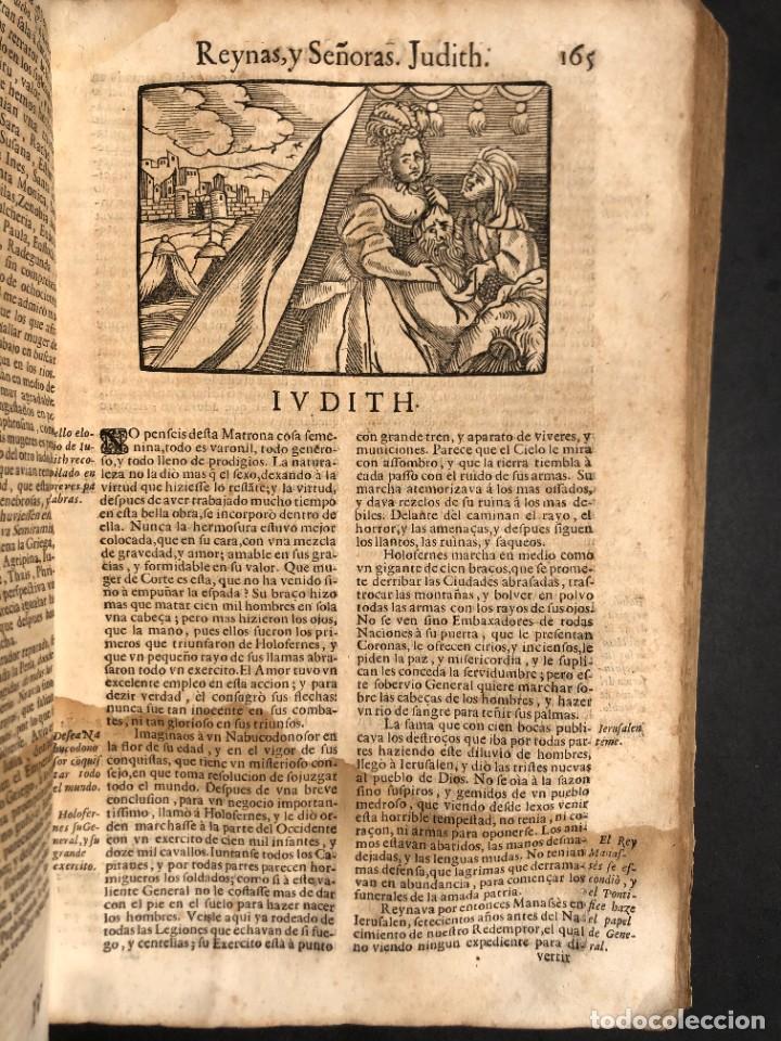 Libros antiguos: Año 1698 - La Corte santa - Tratado de los Monarcas y Cavalleros - Pergamino - De las Reynas, y Seño - Foto 53 - 259855635