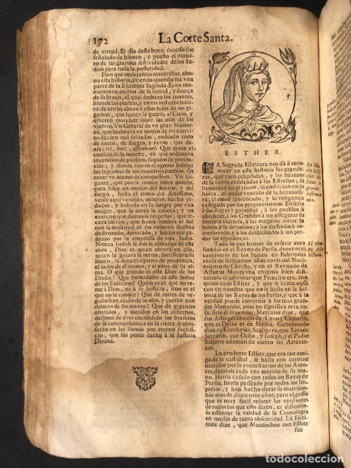 Libros antiguos: Año 1698 - La Corte santa - Tratado de los Monarcas y Cavalleros - Pergamino - De las Reynas, y Seño - Foto 54 - 259855635