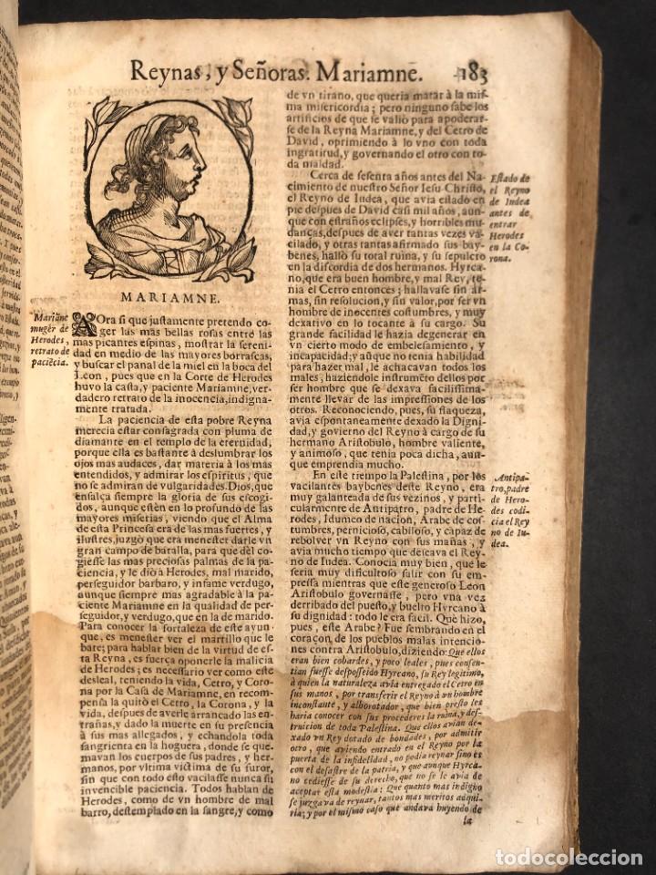 Libros antiguos: Año 1698 - La Corte santa - Tratado de los Monarcas y Cavalleros - Pergamino - De las Reynas, y Seño - Foto 56 - 259855635