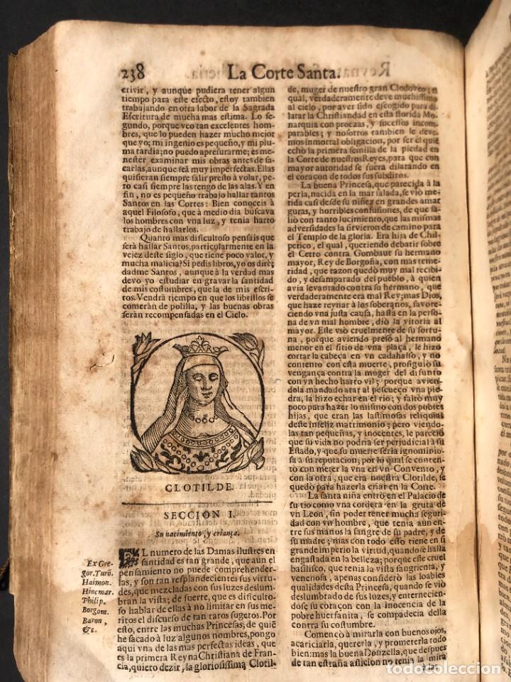 Libros antiguos: Año 1698 - La Corte santa - Tratado de los Monarcas y Cavalleros - Pergamino - De las Reynas, y Seño - Foto 59 - 259855635
