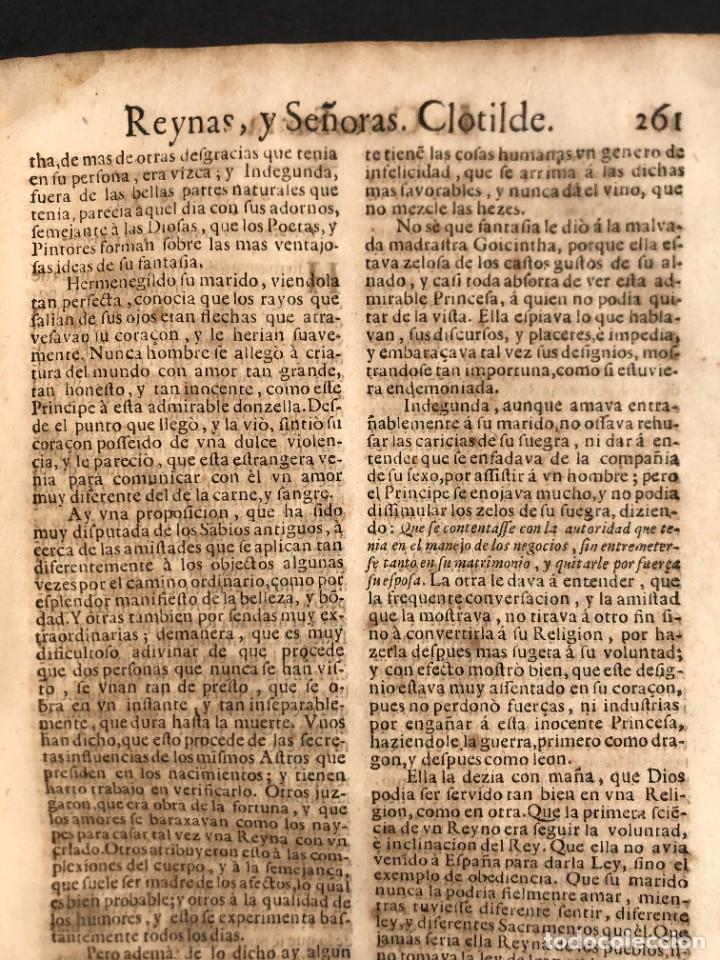 Libros antiguos: Año 1698 - La Corte santa - Tratado de los Monarcas y Cavalleros - Pergamino - De las Reynas, y Seño - Foto 60 - 259855635