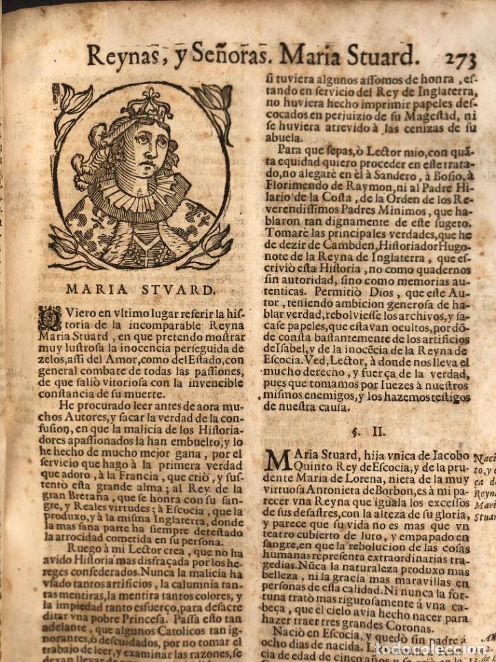 Libros antiguos: Año 1698 - La Corte santa - Tratado de los Monarcas y Cavalleros - Pergamino - De las Reynas, y Seño - Foto 64 - 259855635