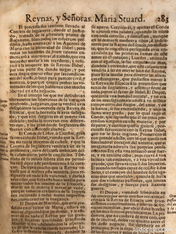 Libros antiguos: Año 1698 - La Corte santa - Tratado de los Monarcas y Cavalleros - Pergamino - De las Reynas, y Seño - Foto 66 - 259855635