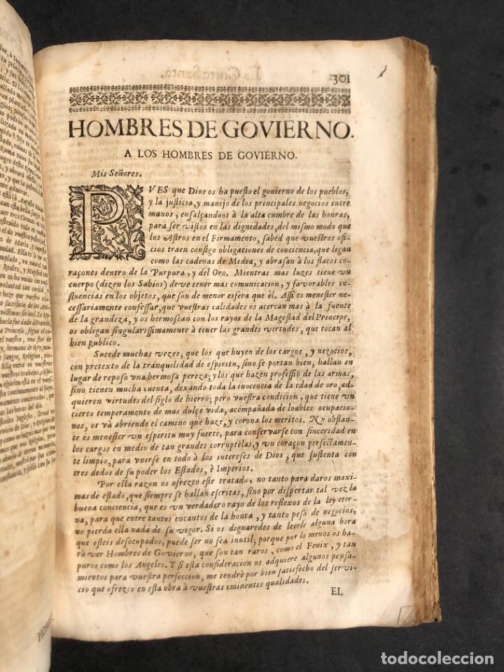 Libros antiguos: Año 1698 - La Corte santa - Tratado de los Monarcas y Cavalleros - Pergamino - De las Reynas, y Seño - Foto 67 - 259855635