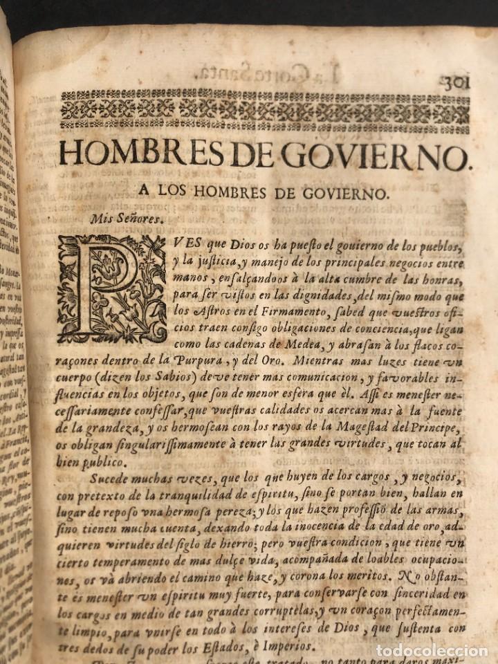 Libros antiguos: Año 1698 - La Corte santa - Tratado de los Monarcas y Cavalleros - Pergamino - De las Reynas, y Seño - Foto 68 - 259855635