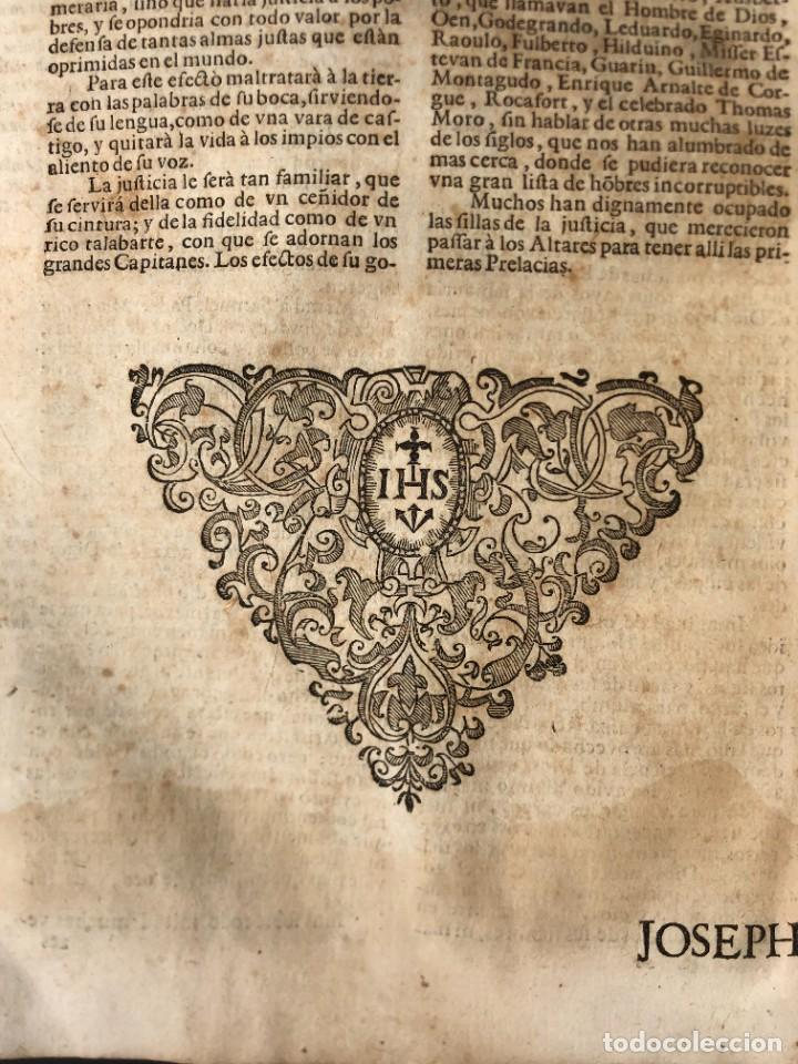 Libros antiguos: Año 1698 - La Corte santa - Tratado de los Monarcas y Cavalleros - Pergamino - De las Reynas, y Seño - Foto 71 - 259855635