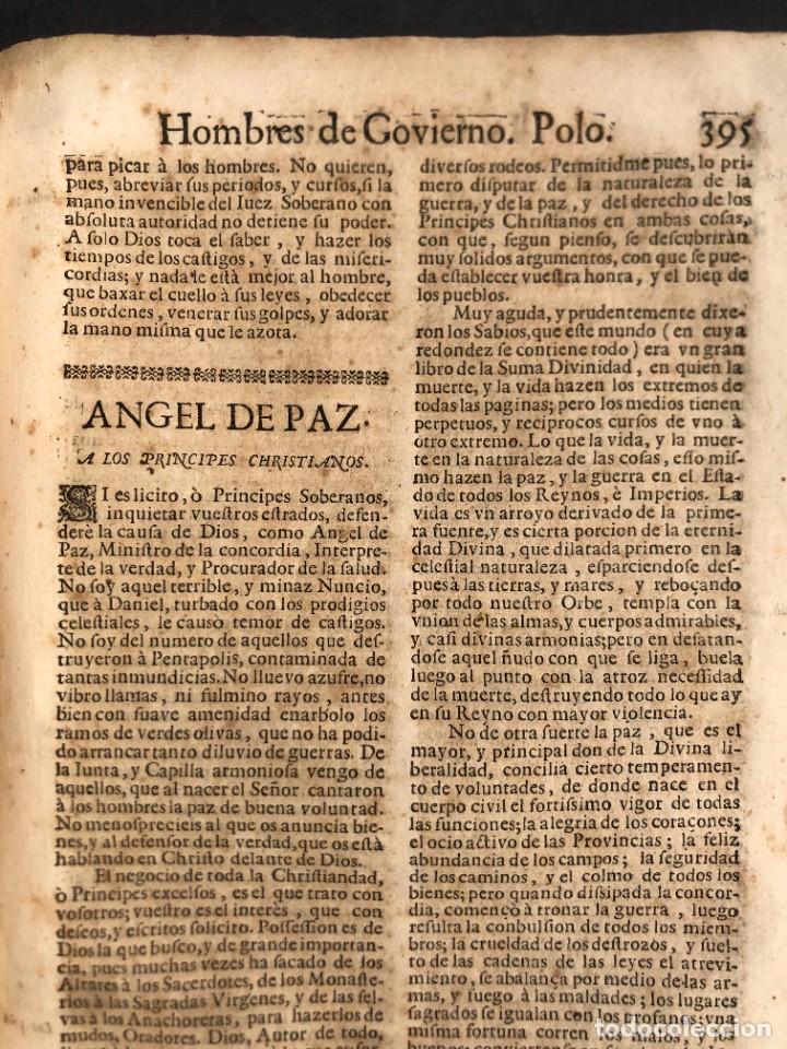 Libros antiguos: Año 1698 - La Corte santa - Tratado de los Monarcas y Cavalleros - Pergamino - De las Reynas, y Seño - Foto 80 - 259855635