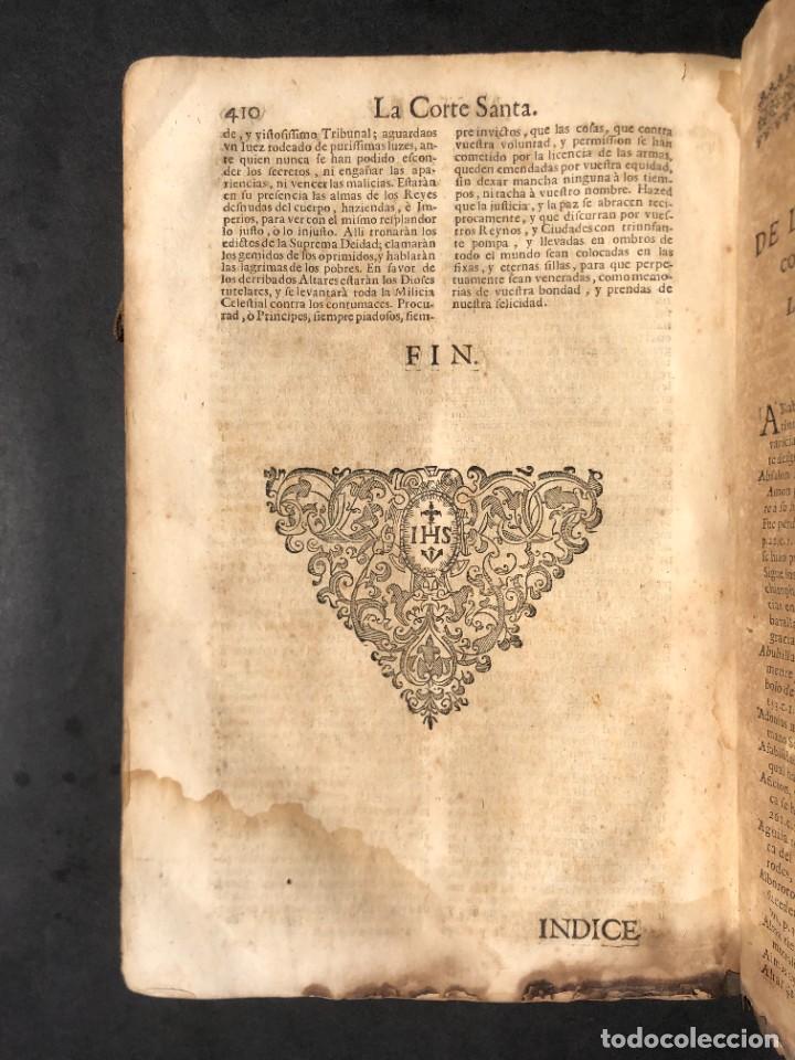 Libros antiguos: Año 1698 - La Corte santa - Tratado de los Monarcas y Cavalleros - Pergamino - De las Reynas, y Seño - Foto 81 - 259855635