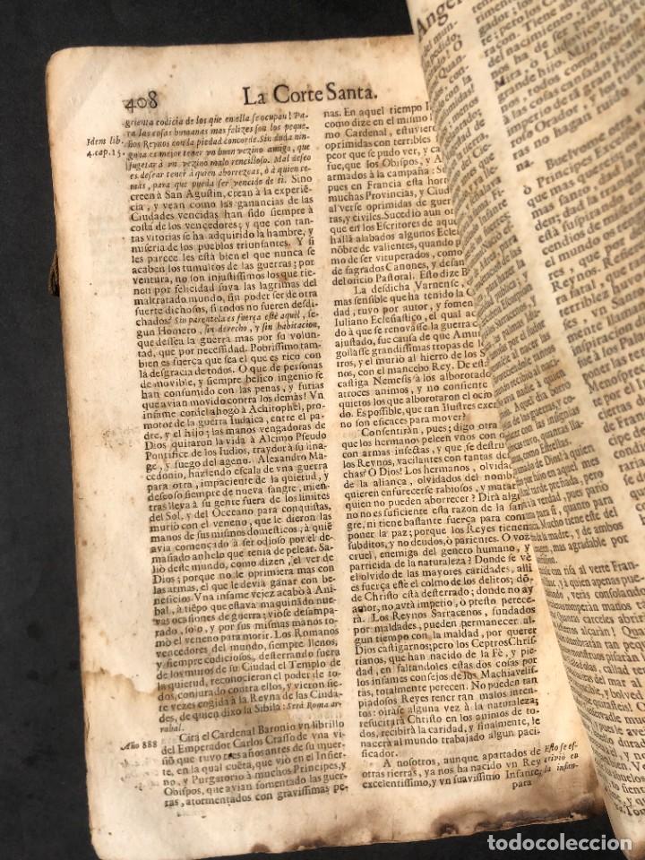 Libros antiguos: Año 1698 - La Corte santa - Tratado de los Monarcas y Cavalleros - Pergamino - De las Reynas, y Seño - Foto 82 - 259855635