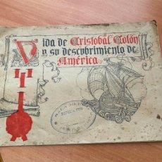 Libros antiguos: VIDA DE CRISTOBAL COLON Y SU DESCUBRIMIENTO DE AMERICA (EDITADO ARGOS) (COIB119). Lote 261255055