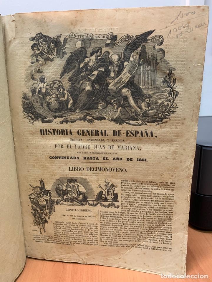 Libros antiguos: HISTORIA GENERAL DE ESPAÑA. CONTINUADA HASTA EL AÑO 1851. - Foto 18 - 261561080