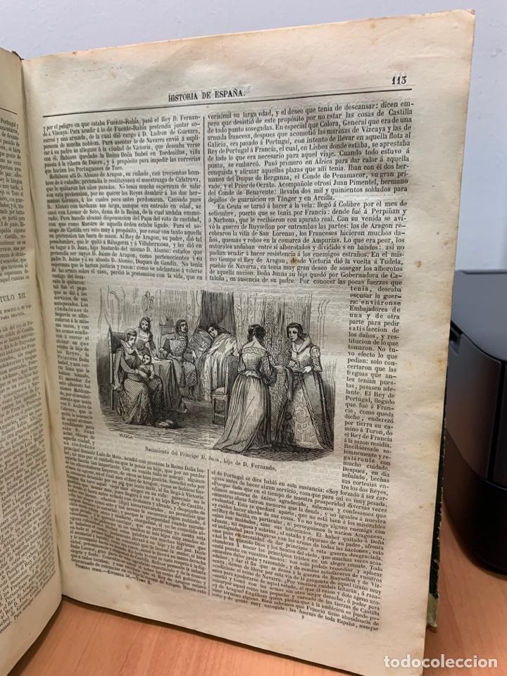 Libros antiguos: HISTORIA GENERAL DE ESPAÑA. CONTINUADA HASTA EL AÑO 1851. - Foto 24 - 261561080