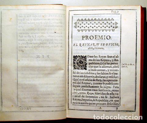 Libros antiguos: GONZÁLEZ SALCEDO, Pedro - NUDRICION REAL. Reglas obre como se ha de educar a los reyes - Madrid 1671 - Foto 3 - 261563625