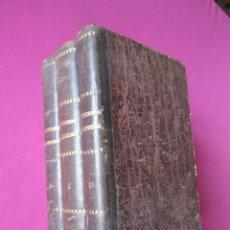Livres anciens: LOS MISTERIOS DEL PUEBLO ESPAÑOL MANUEL ANGELON CON 40 GRABADOS DE LECHARD 1859. Lote 100279971