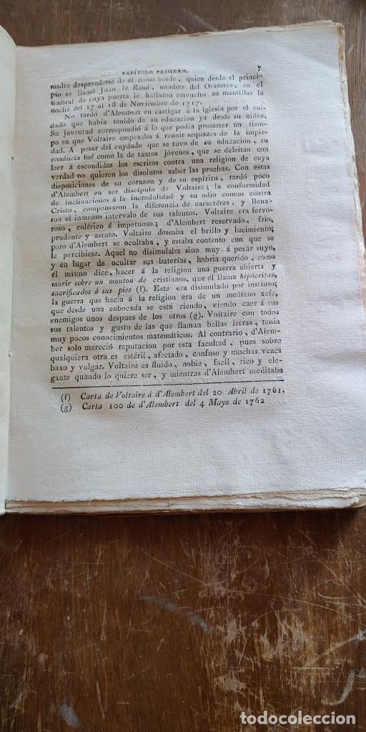 Libros antiguos: MEMORIAS PARA SERVIR A LA HISTORIA DEL JACOBINISMO/TOMO PRIMERO /MALLORCA 1813, pymy x - Foto 2 - 261841940